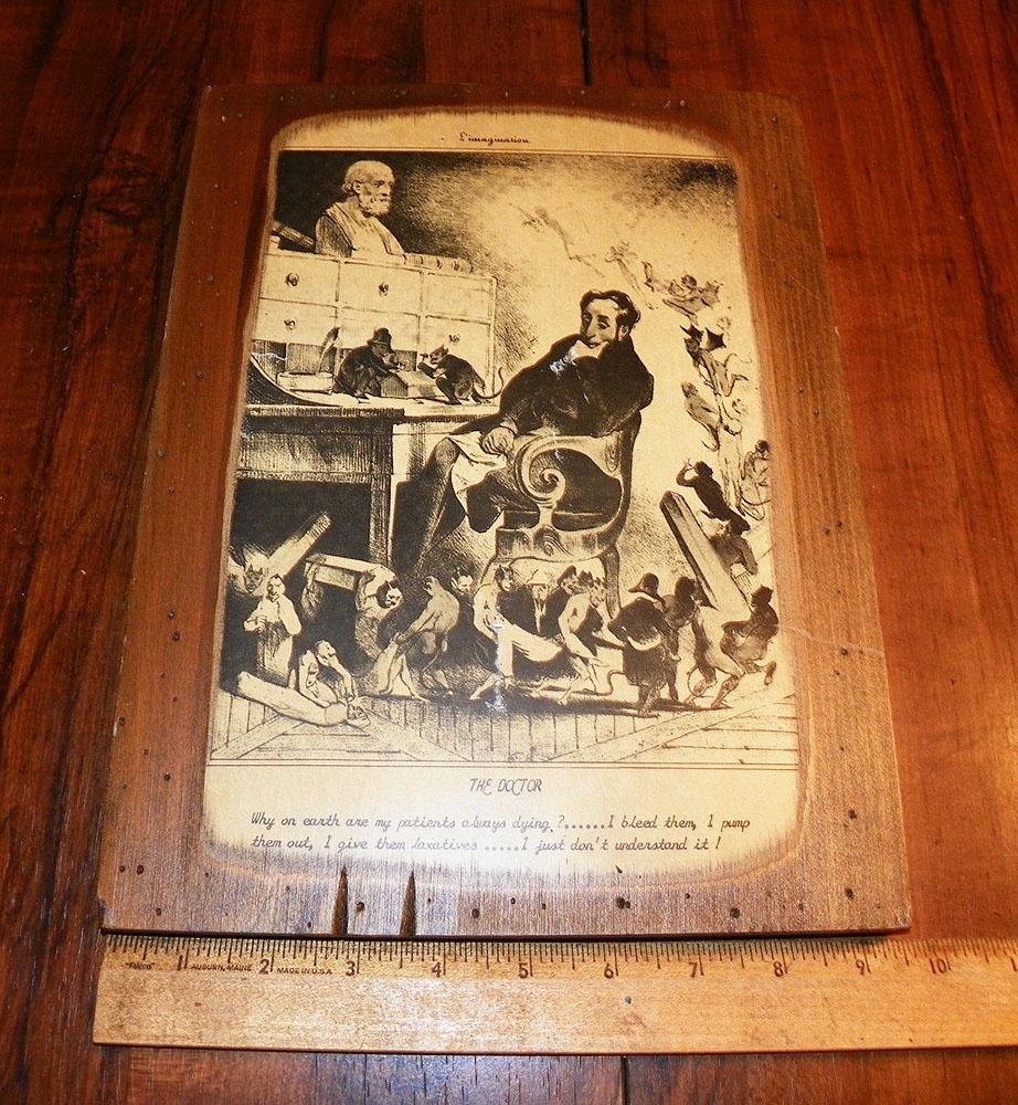 Let's Start A Trend! Vintage Decoupaged Wood Wall Art | Vintage Inside Decoupage Wall Art (Image 12 of 20)