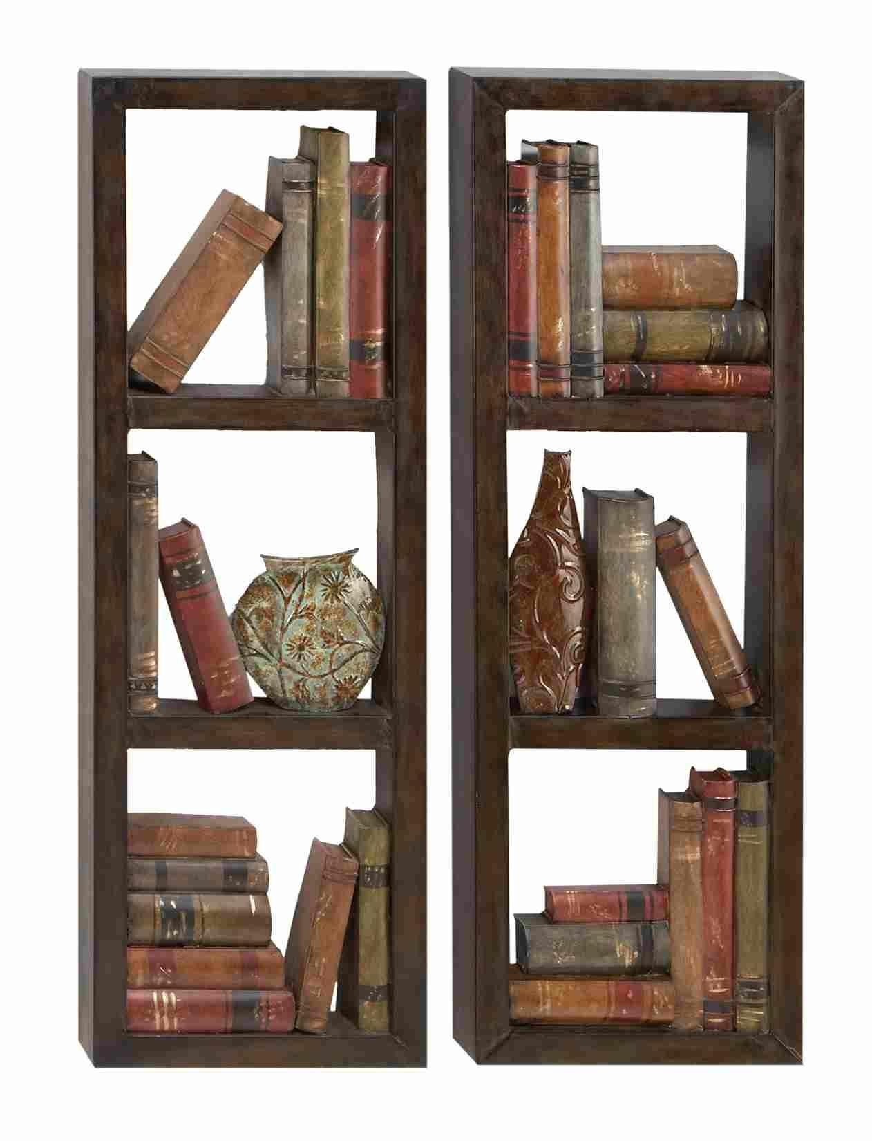 Library Shelves – Rectangle Metal Wall Art Panels In Rectangular Metal Wall Art (Image 11 of 20)
