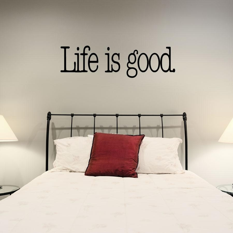 Featured Image of Life Is Good Wall Art