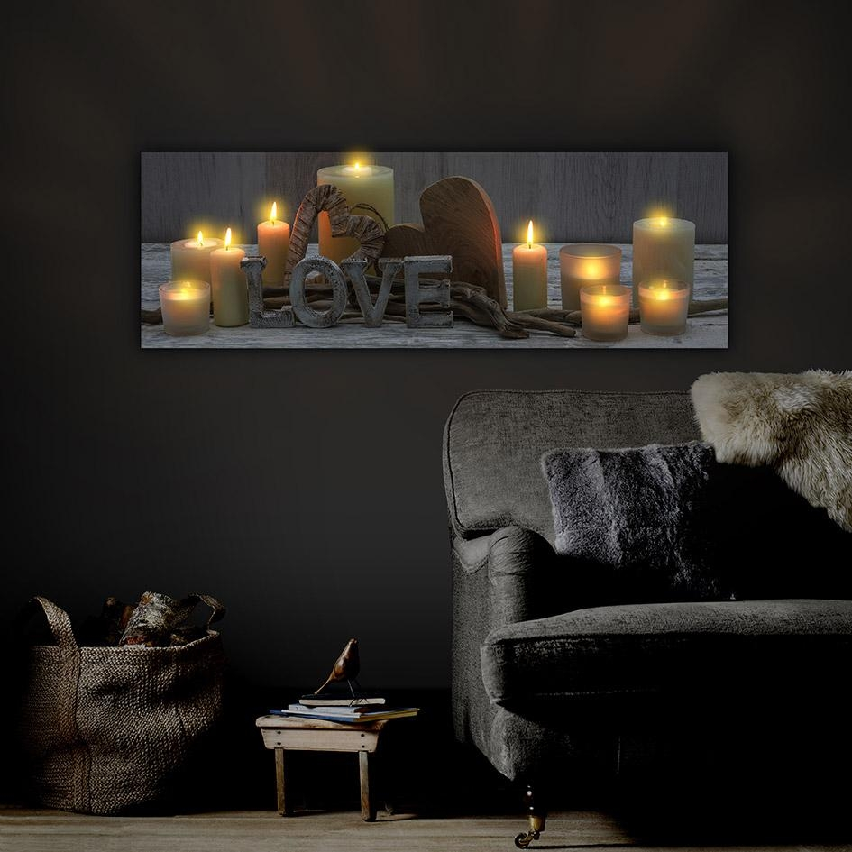 Light Up Canvas Make A Photo Gallery Light Up Wall Art – Home Throughout Wall Art With Lights (Image 10 of 20)