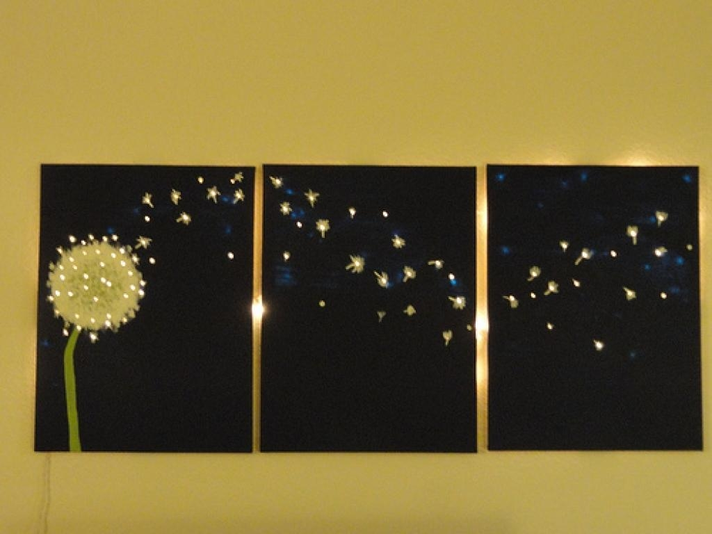 Light Wall Art 1000 Ideas About Light Up Canvas On Pinterest In Wall Art With Lights (Image 12 of 20)