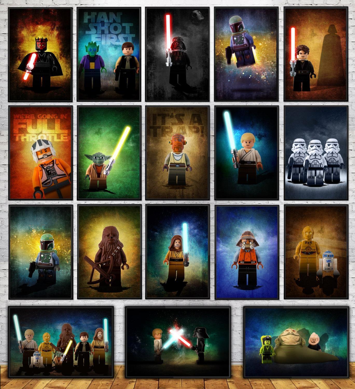 20 Best Lego Star Wars Wall Art Wall Art Ideas