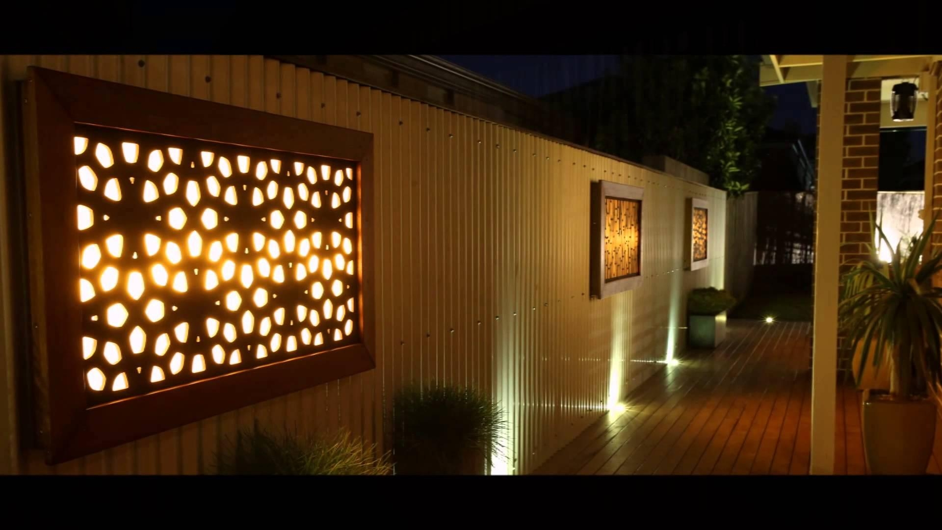 Litecrafts – Wall Art – Outdoor Feature Led – Light Boxes And In Wall Art Lighting (Image 14 of 20)