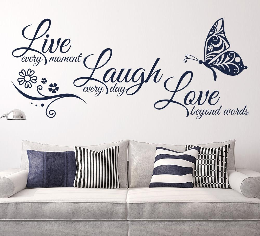 Live Laugh Love Wall Art New Wall Art Decals On Metal Wall Art With Regard To Live Love Laugh Metal Wall Art (View 4 of 20)