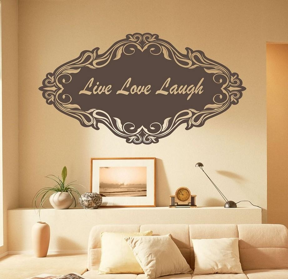 Live Laugh Love Wall Décor Inspirations – Homestylediary Within Live Love Laugh Metal Wall Art (Image 10 of 20)