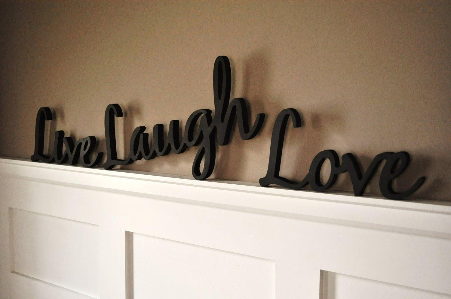 Live Love Laugh Wall Decor # Live Laugh Love Wall Decor Bed Bath In Live Love Laugh Metal Wall Art (Image 13 of 20)