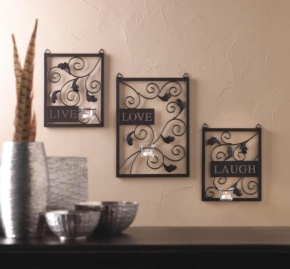 20 Photos Live Love Laugh Metal Wall Decor Wall Art Ideas