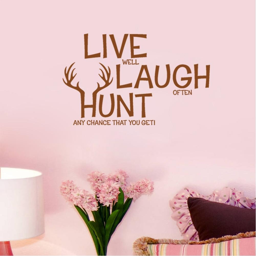 Live Well Laugh Often Love Much Wall Decor Live Laugh Love Metal Throughout Live Love Laugh Metal Wall Art (View 15 of 20)