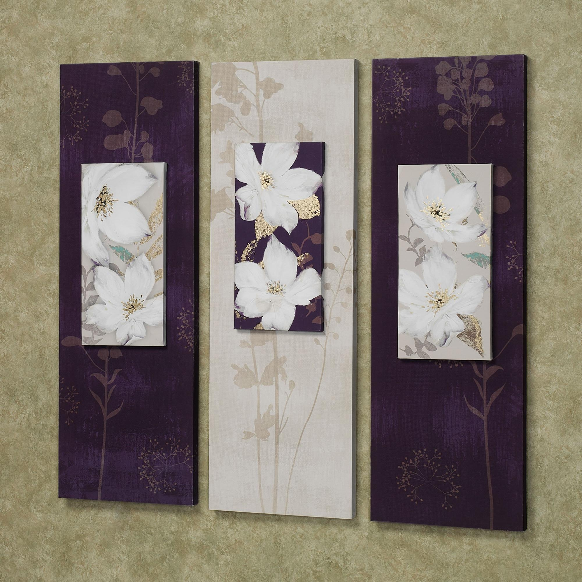 Living Room: Three Canvas Wall Art With White Ceramic Floor And Regarding Small Canvas Wall Art (View 18 of 20)