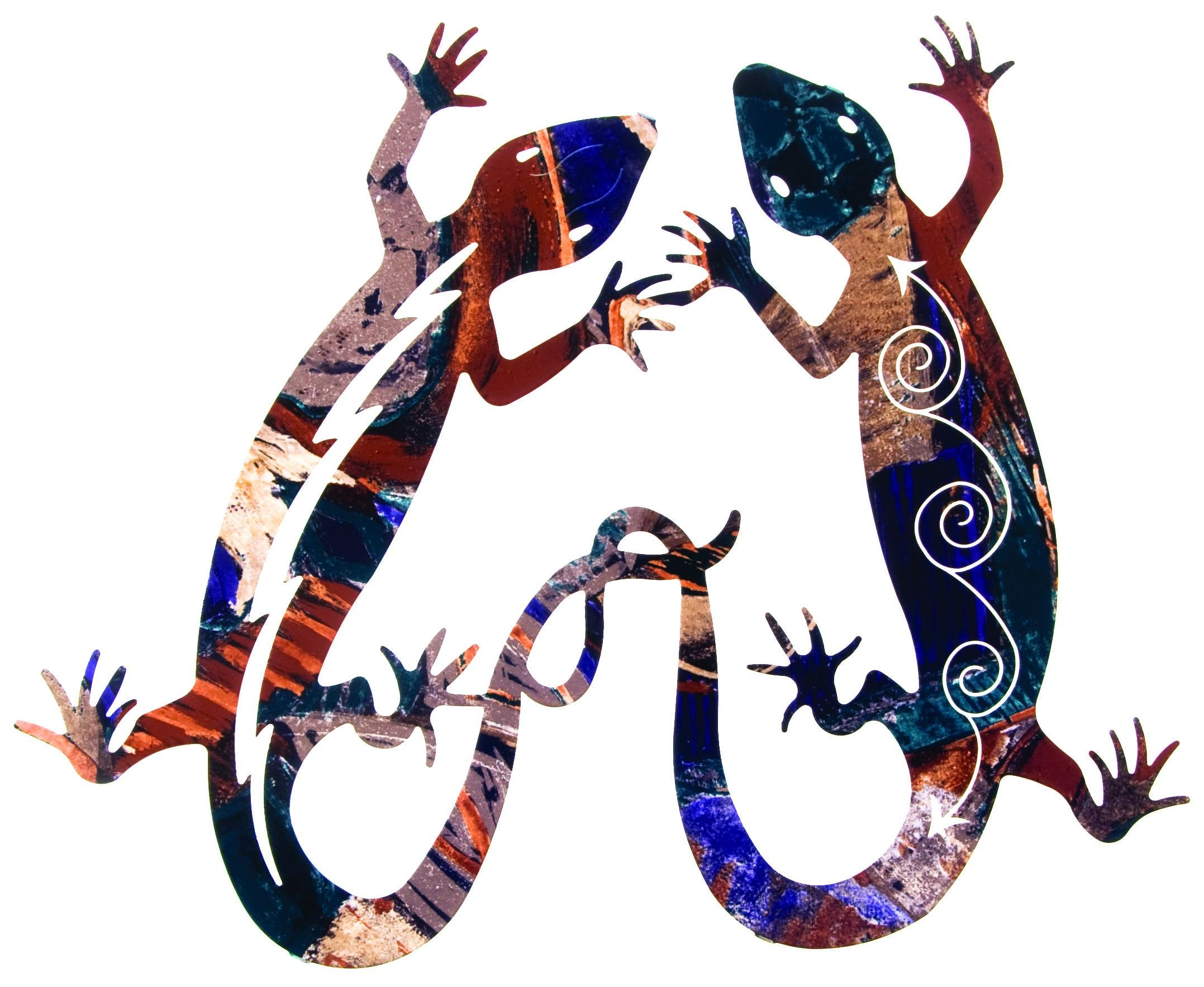 Lizard Tangolazart – Sanger Metal Art And Gifts Intended For Lazart Metal Art (View 7 of 20)