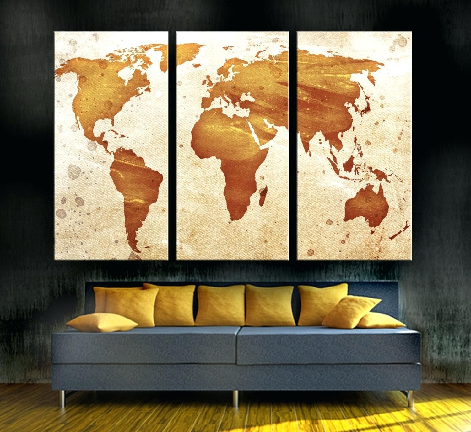 20 Photos Long Vertical Wall Art Wall Art Ideas