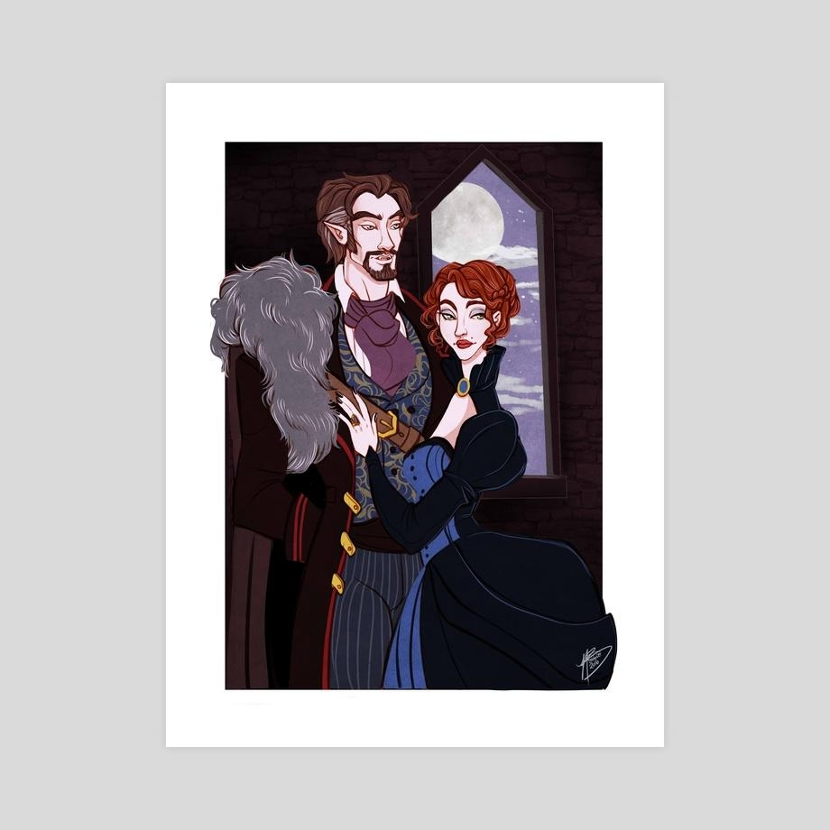 Lord And Lady Briarwood, An Art Printnaomi Buttelo – Inprnt For Art Prints To Hang On Your Wall (Image 10 of 20)