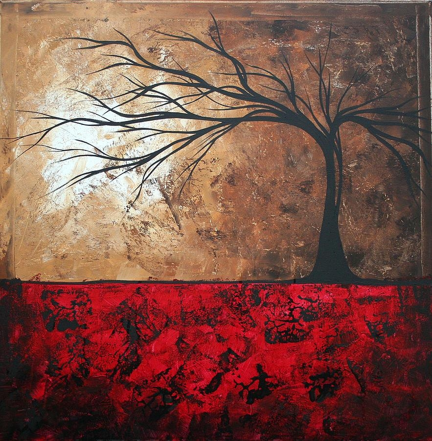 Lost In The Forestmadart Paintingmegan Duncanson In Megan Duncanson Metal Wall Art (Image 7 of 20)