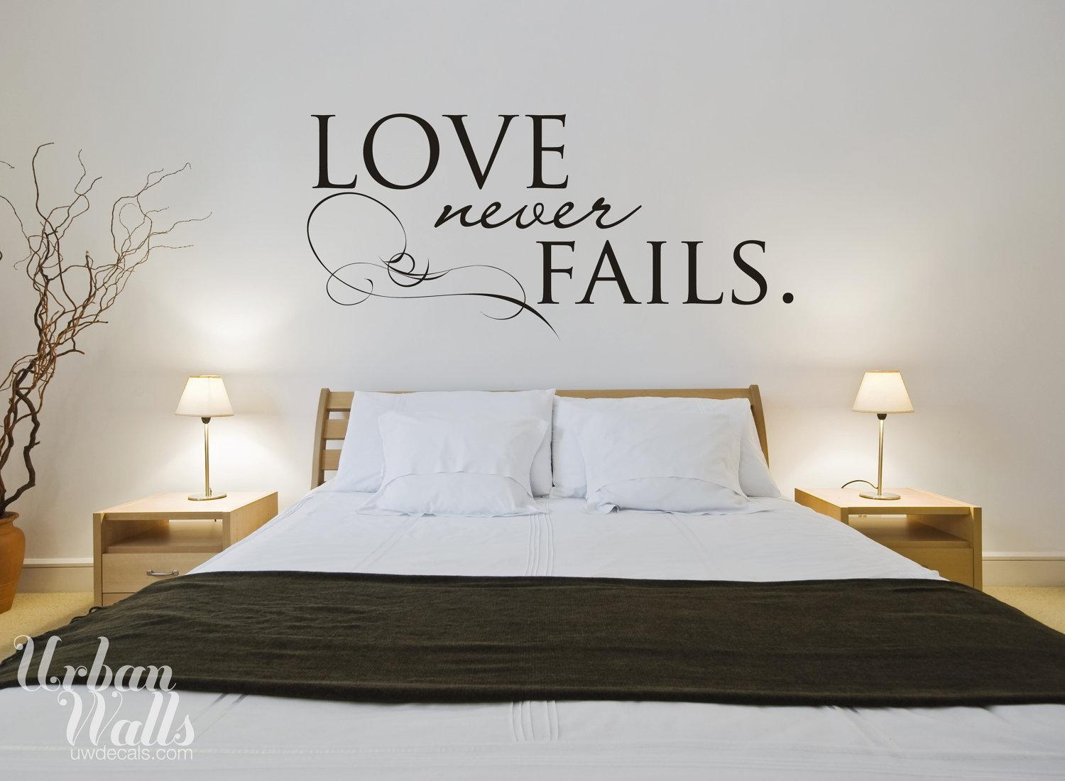 Love Wall Art Decals | Wallartideas Regarding Love Wall Art (View 15 of 20)