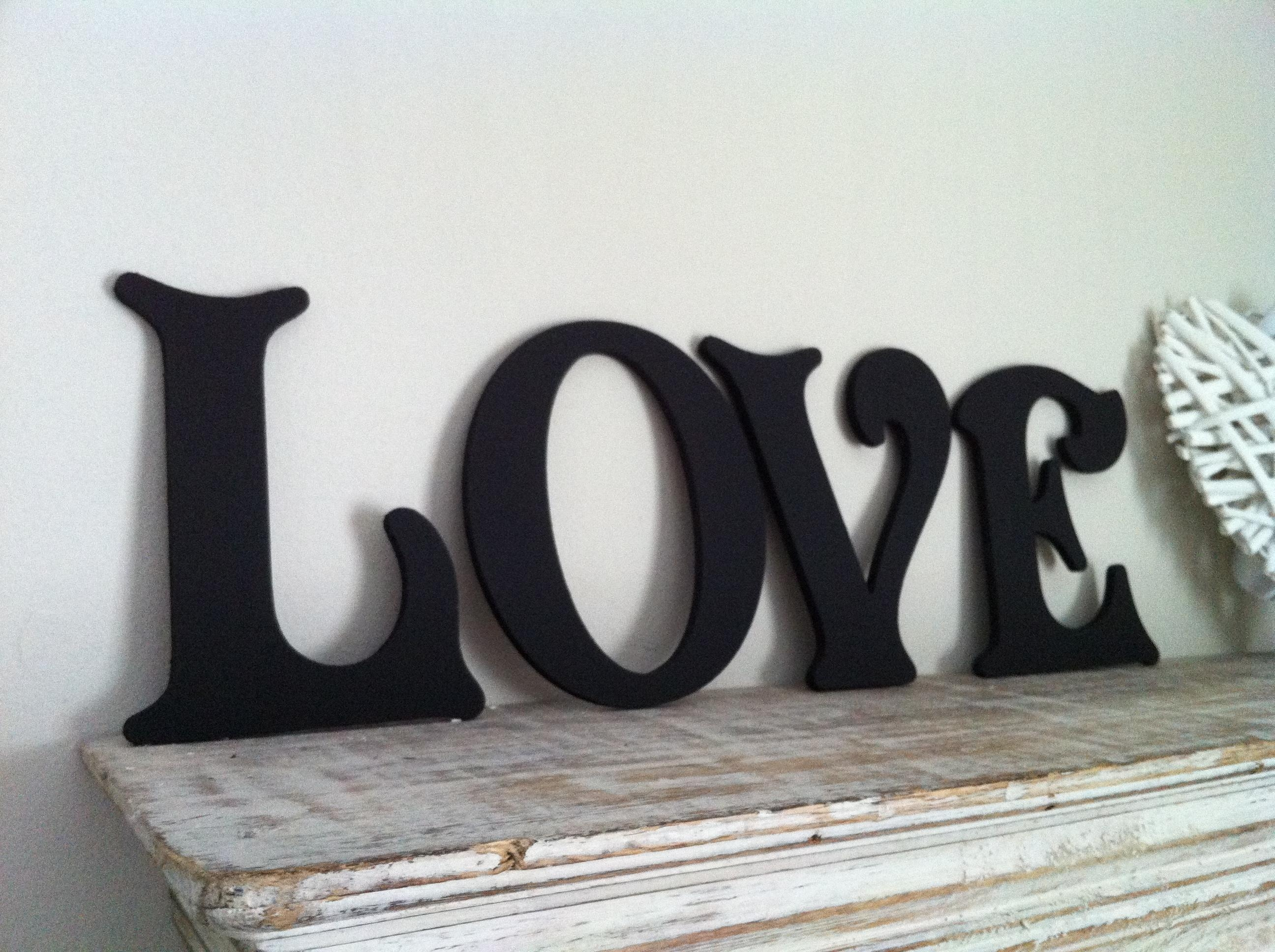 Love Wall Art Letters | Wallartideas Intended For Love Wall Art (View 17 of 20)