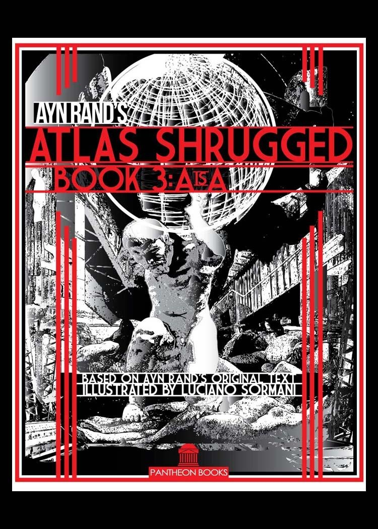 Luciano Sormani Designer – Publication Design With Atlas Shrugged Cover Art (Image 16 of 20)