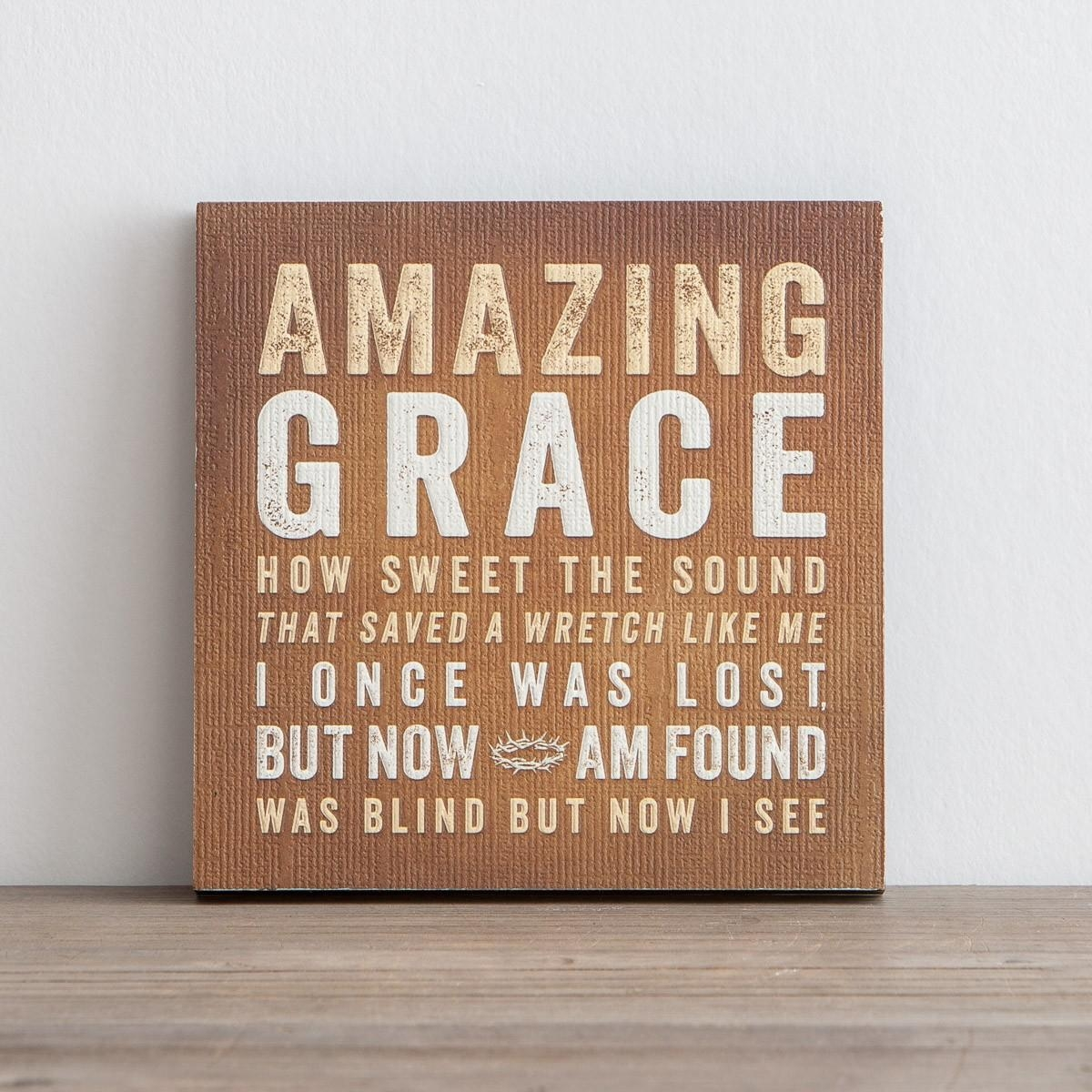 Lyrics For Life – Amazing Grace – Wall Art | Dayspring With Regard To Grace Wall Art (View 3 of 20)