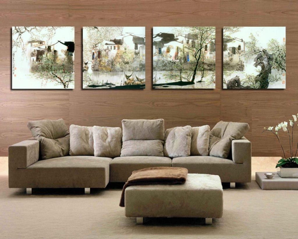 Oversized Wall Art Ideas: 2019 Latest Large Framed Wall Art