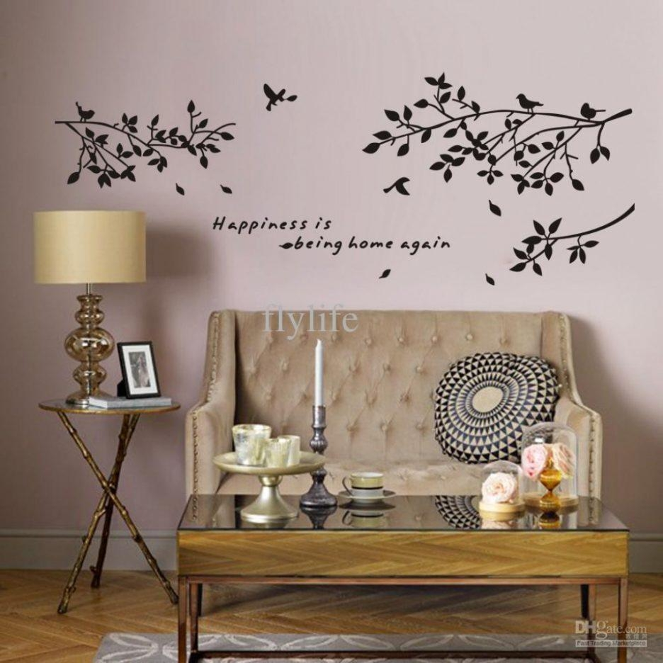 Makeovers And Decoration For Modern Homes : Extra Large Black Tree With Regard To Large Christian Wall Art (Image 13 of 20)