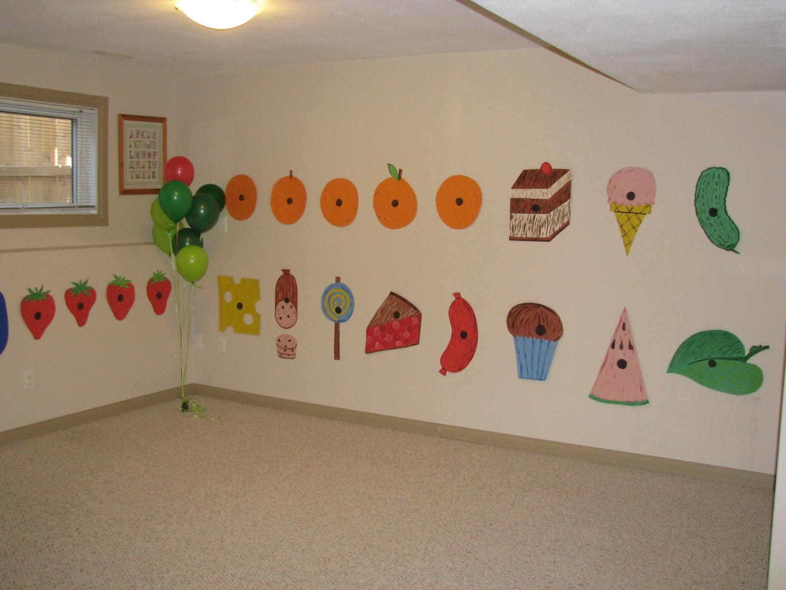 Making Merry Memories: The Very Hungry Caterpillar Party For Very Hungry Caterpillar Wall Art (Image 11 of 20)