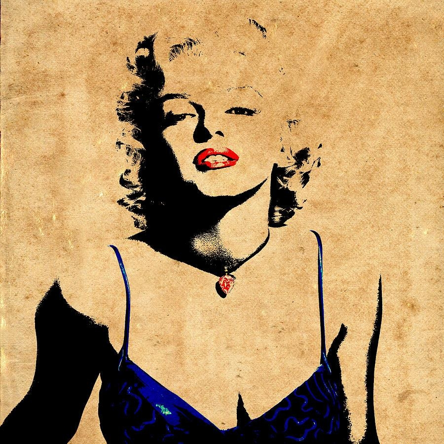 Marilyn Monroe 10 Photographandrew Fare With Regard To Marilyn Monroe Black And White Wall Art (Image 12 of 20)