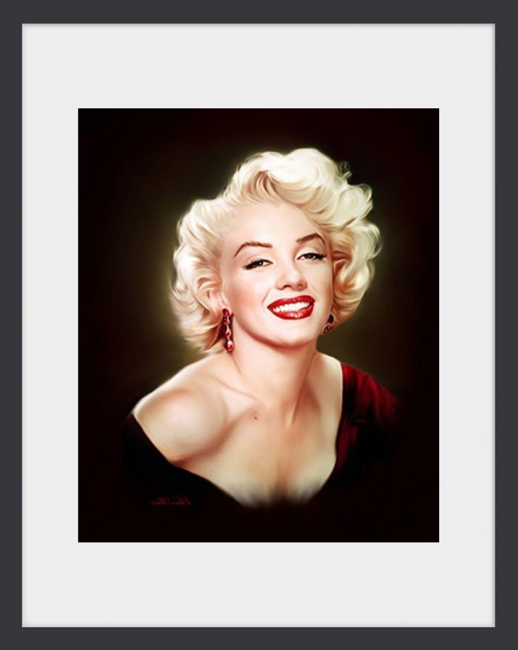 Marilyn Monroe Framed Pictures Walmart ~ Idoorframe Within Marilyn Monroe Framed Wall Art (View 3 of 20)
