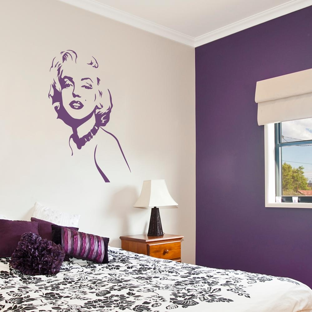 Marilyn Monroe Wall Decal With Marilyn Monroe Wall Art (View 10 of 20)