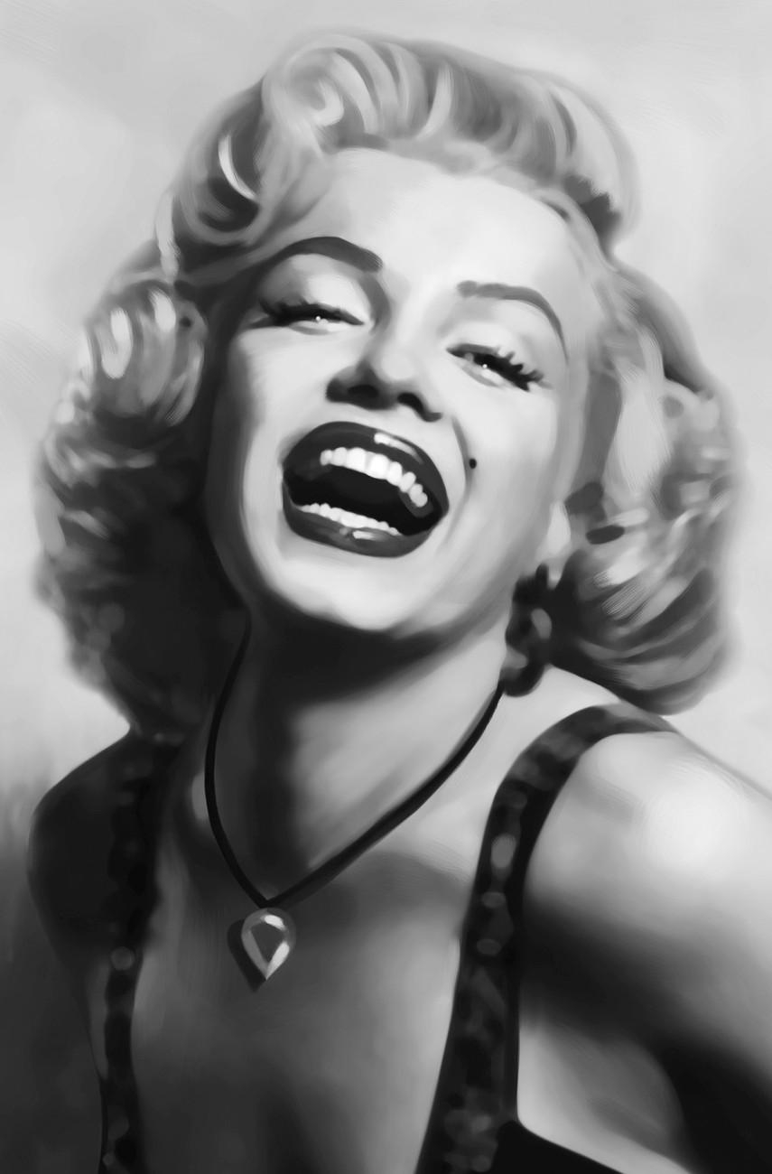 Marilyn Monroe Wall Mural | Buy At Europosters Inside Marilyn Monroe Framed Wall Art (View 18 of 20)