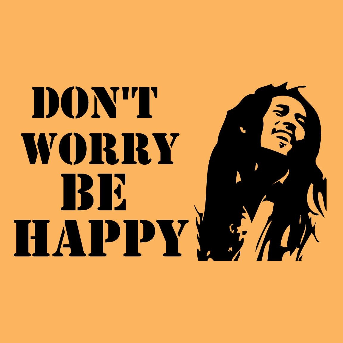 Marley Wall Decal  Wall Vinyl Sticker Easy To Apply! Intended For Bob Marley Wall Art (Image 15 of 20)