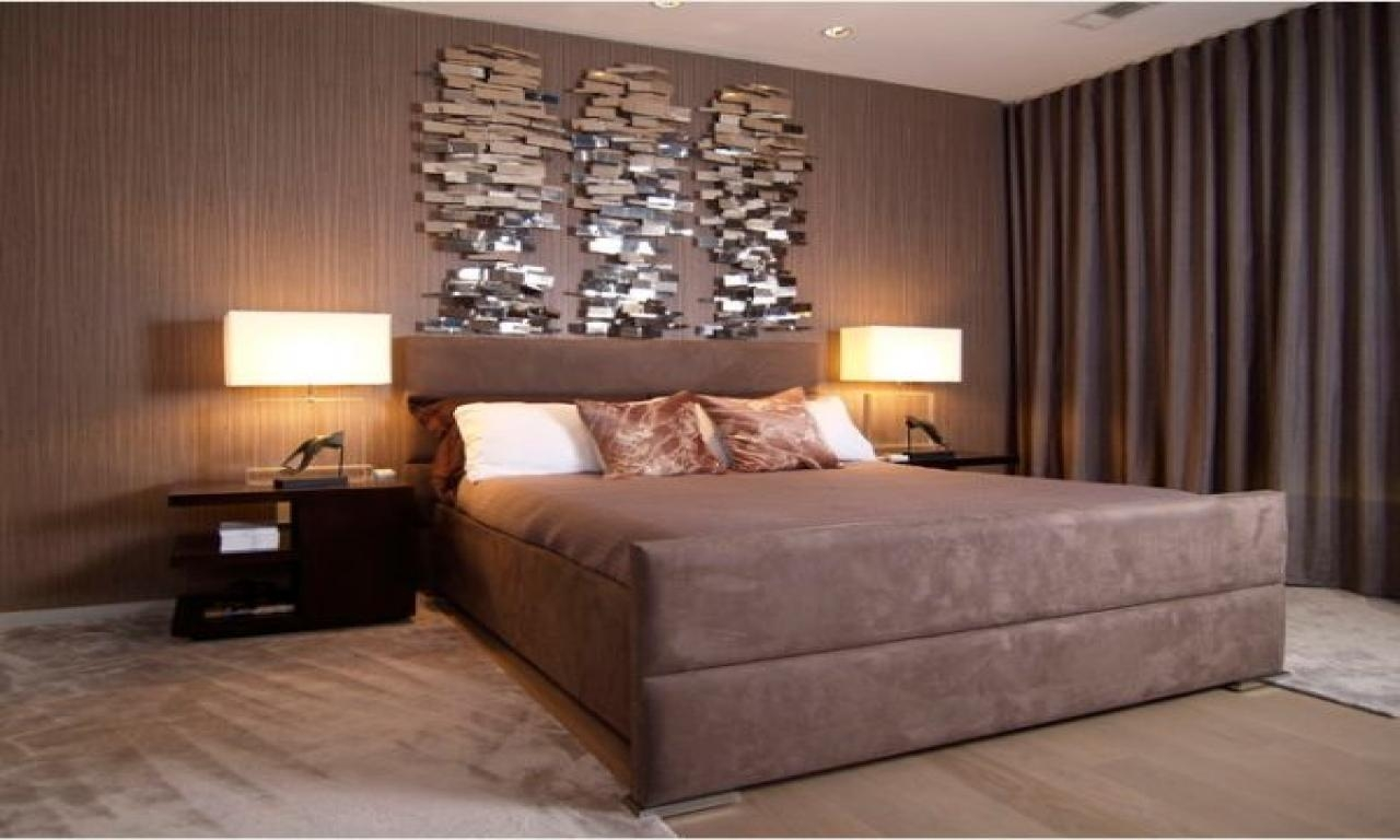 Master Bedroom Wall Art Ideas (Photos And Video With Regard To Bed Wall Art (Image 18 of 20)