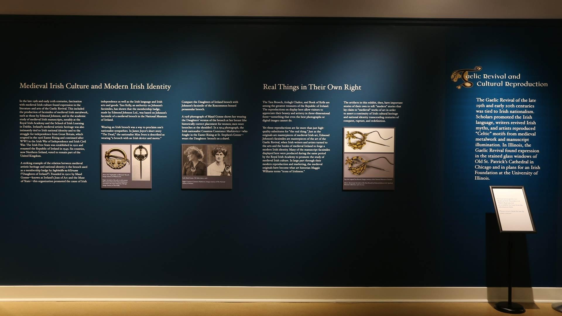 Medieval Irish Masterpieces In Modern Reproduction, Exhibits Intended For Ireland Metal Wall Art (Image 9 of 20)