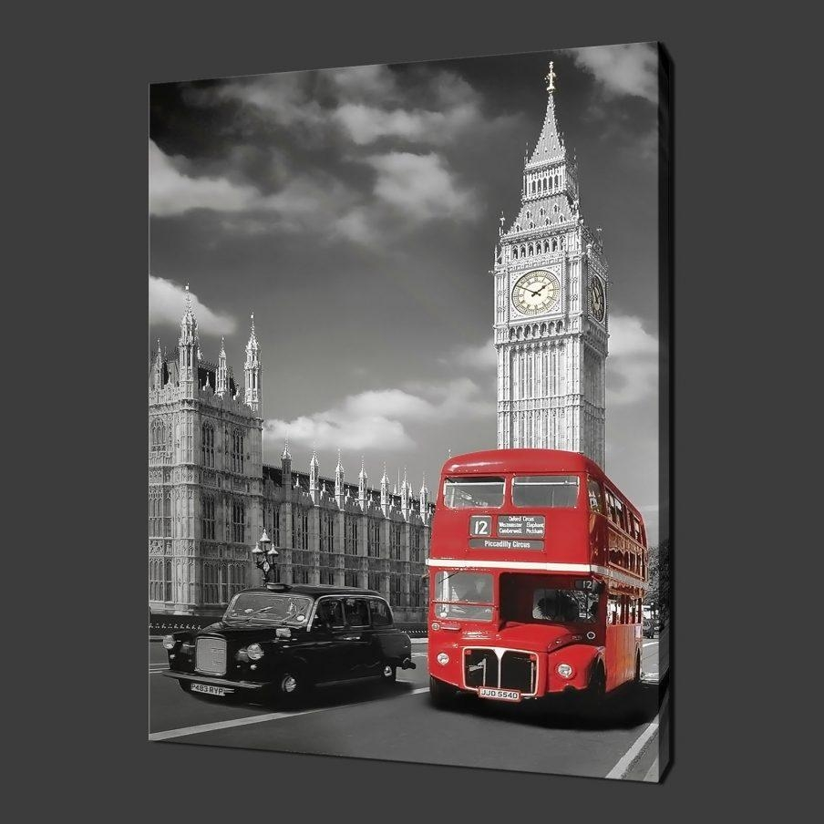 Mesmerizing London Wall Art Ebay Removable Vinyl Wall Stickers Intended For London Scene Wall Art (Image 7 of 20)