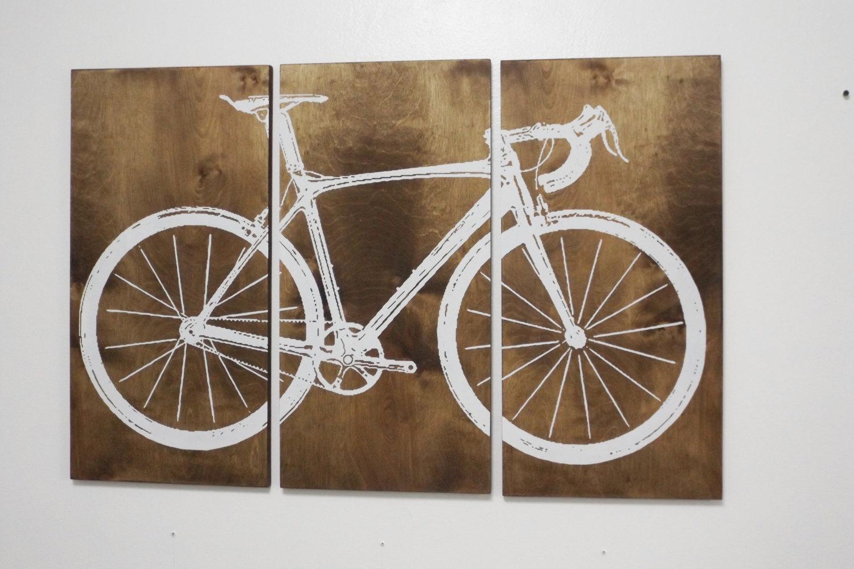 Mesmerizing Wall Decor Plain Design Metal Bicycle Metal Bicycle Inside Bicycle Wall Art Decor (Image 11 of 20)