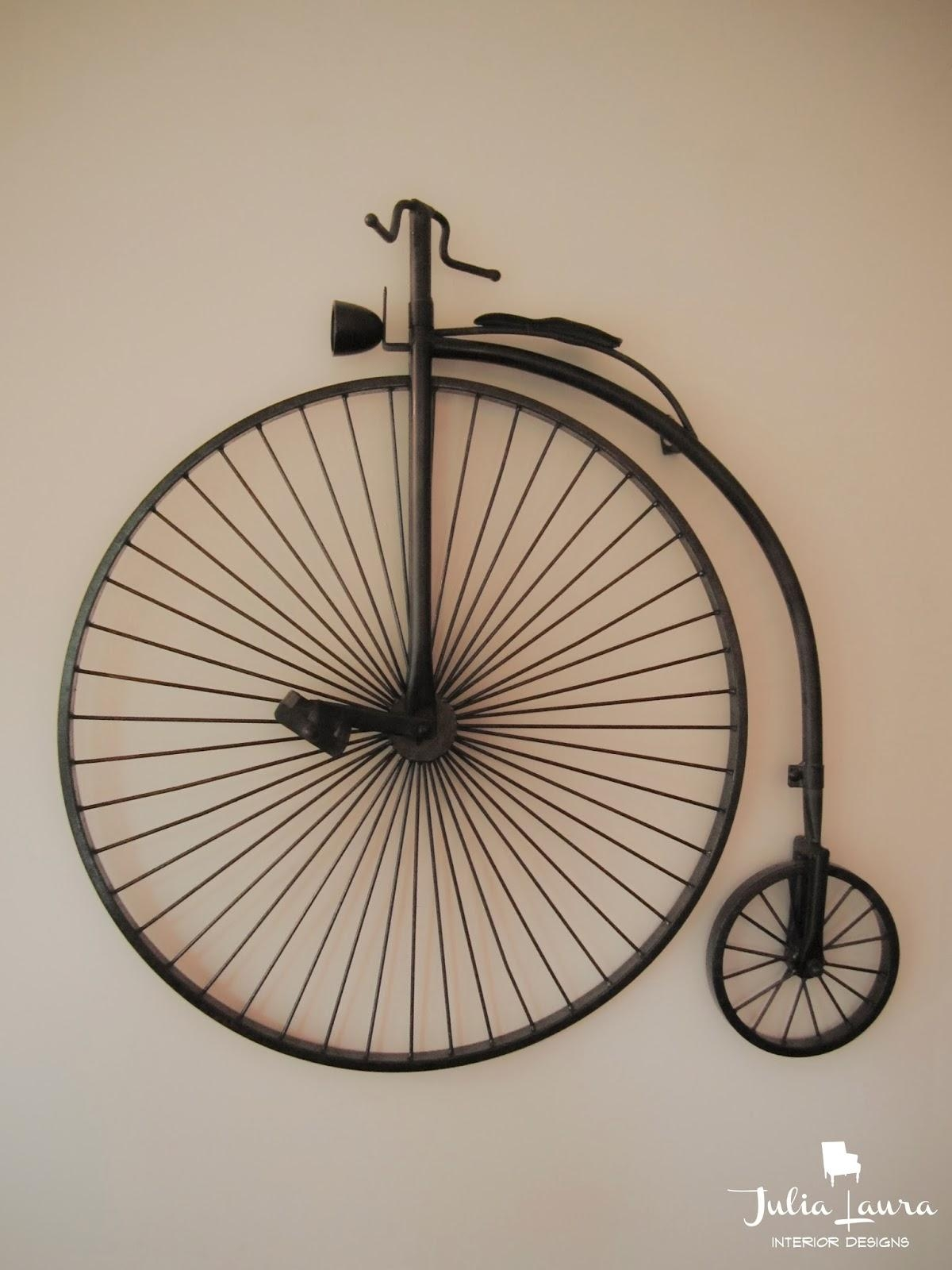 Metal Bicycle Sculpture – All About Sculpture Ideas Within Metal Bicycle Art (Image 7 of 20)