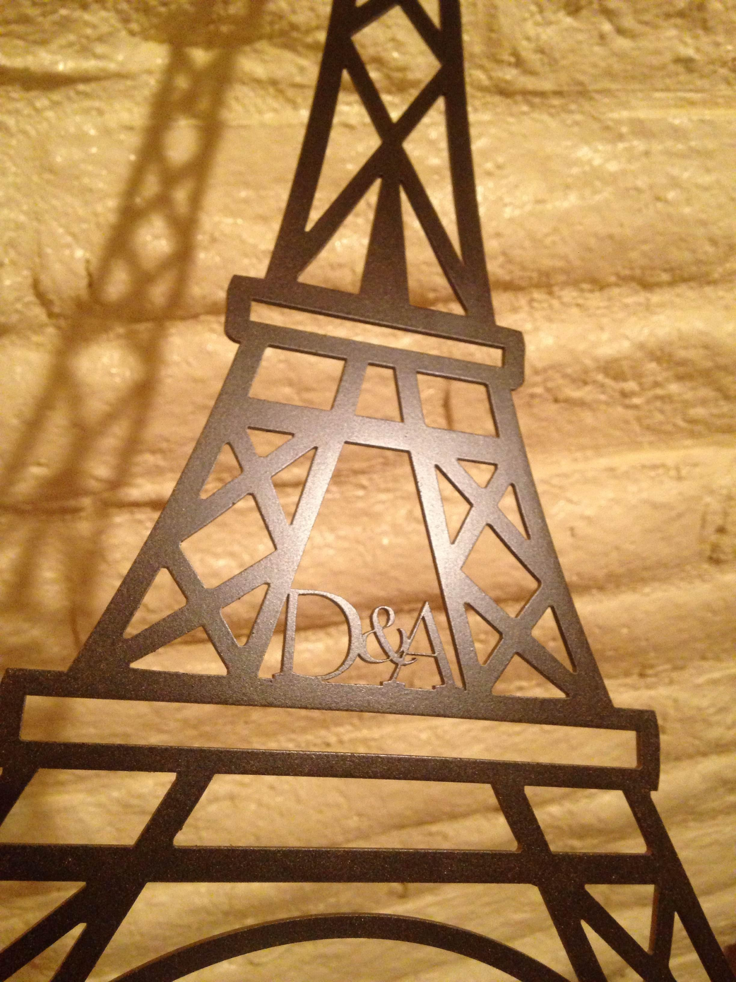 Metal Eiffel Tower Wall Art – Shenra Pertaining To Eiffel Tower Metal Wall Art (View 6 of 20)