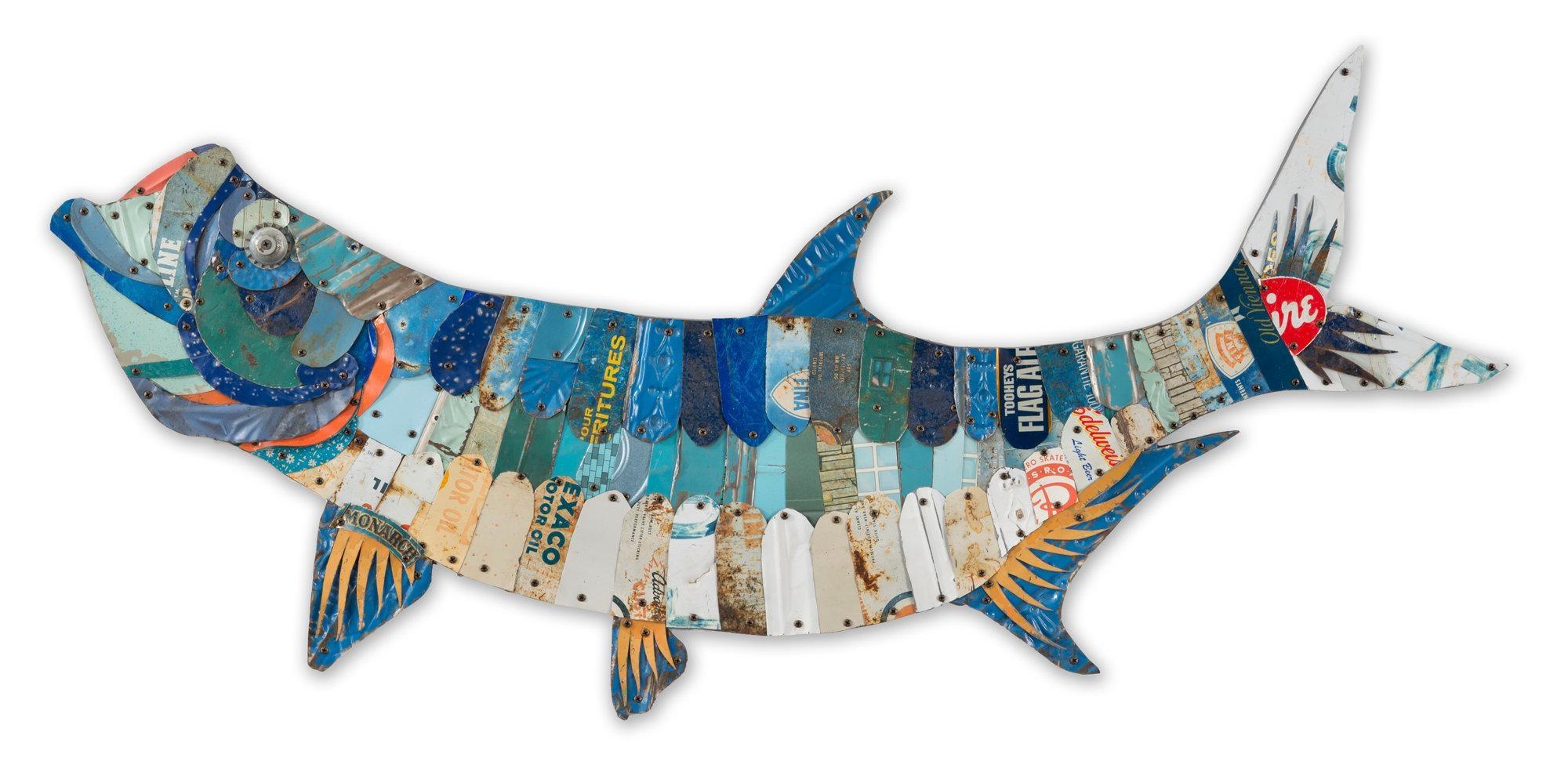 Metal Fish Wall Art. Metal Fish Art Wall Decor Digs Decor (View 19 of 20)