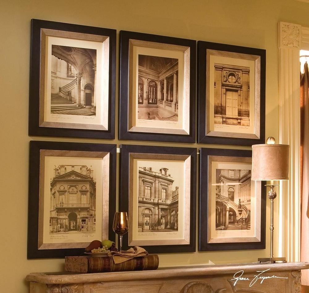 Metal Framed Wall Art Set Of 2 ~ Home Decorations : Choosing In Metal Framed Wall Art (Image 13 of 20)