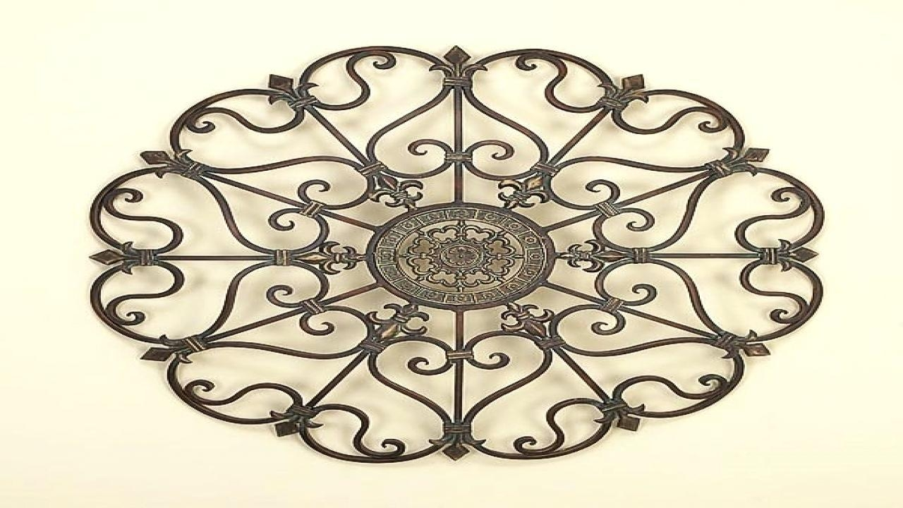 Metal Gate Wall Decor – Bookpeddler Pertaining To Iron Gate Wall Art (Image 13 of 20)