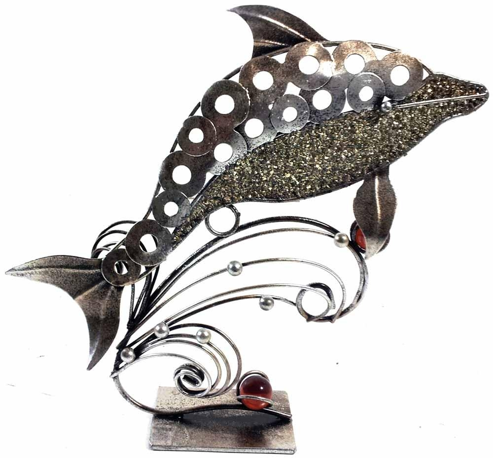Metal Ornament   Metal Wall Art   Contemporary Art Range With Dolphin Metal Wall Art (Image 14 of 20)