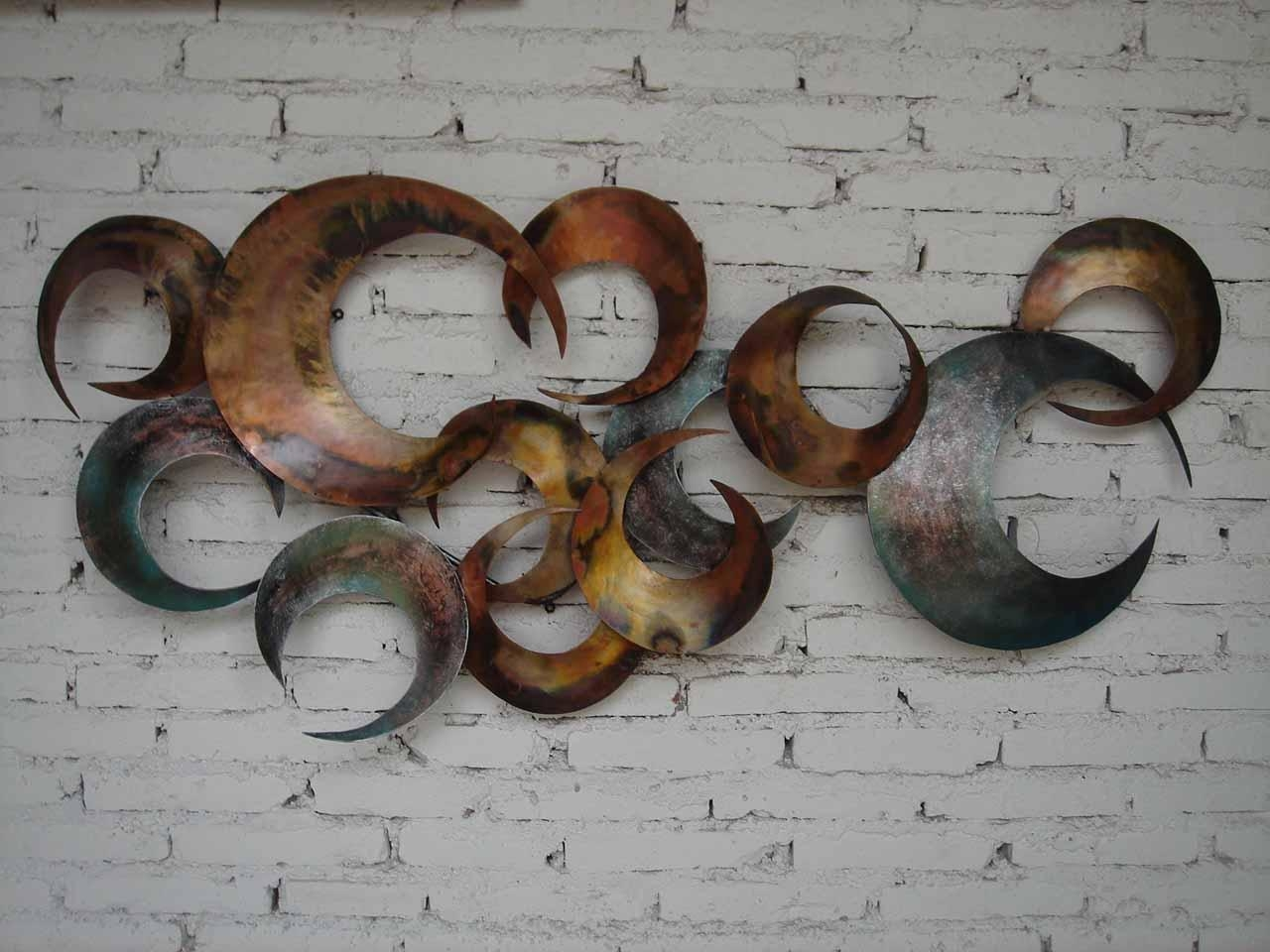 Metal Wall Art Decor And Sculptures Ideas | Jeffsbakery Basement Pertaining To Unique Modern Wall Art And Decor (View 20 of 20)