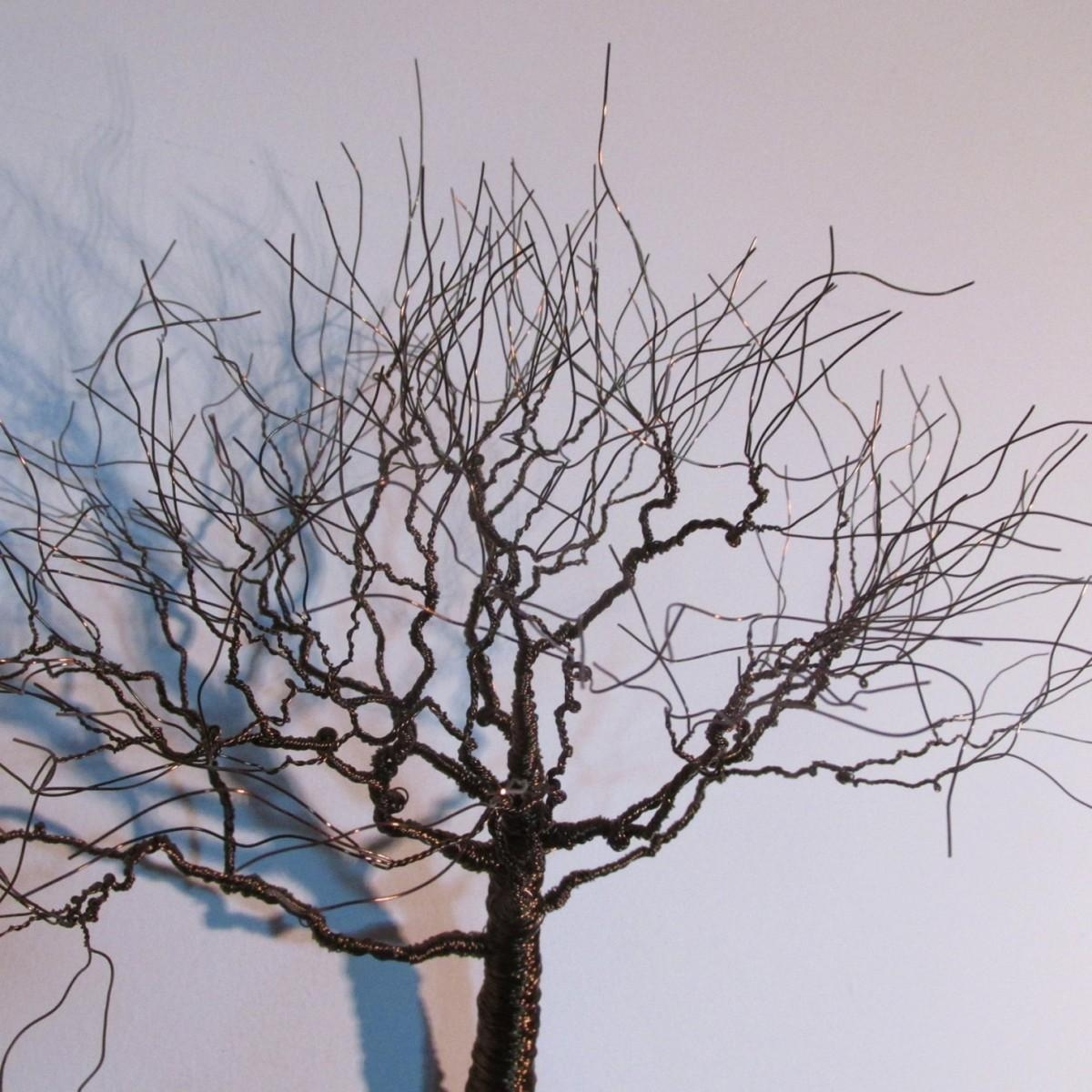 Metal Wall Art Decor As An Amazing Focal Point Intended For Metal Tree Wall Art Sculpture (View 12 of 20)