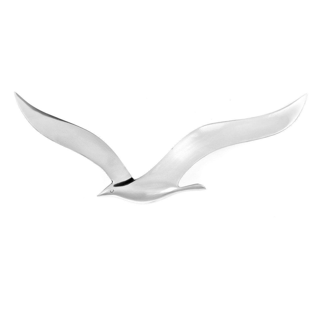 Metal Wall Art Decor Ornament, Handmade Seagull Bird Flying Figure In Metal Wall Art Flock Of Seagulls (View 19 of 20)