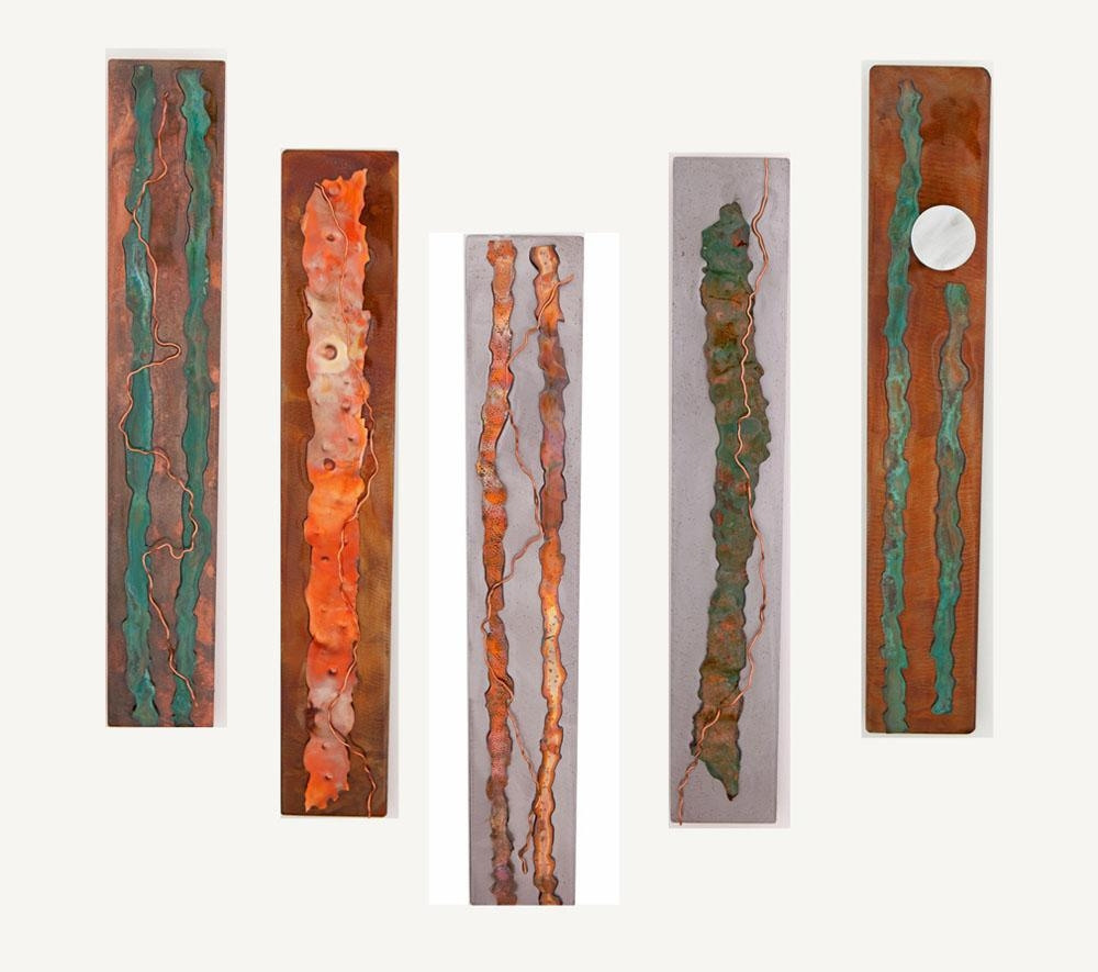 Metal Wall Art: Organic Serieskristen Hoard ($175) Pertaining To Rectangular Metal Wall Art (Image 14 of 20)