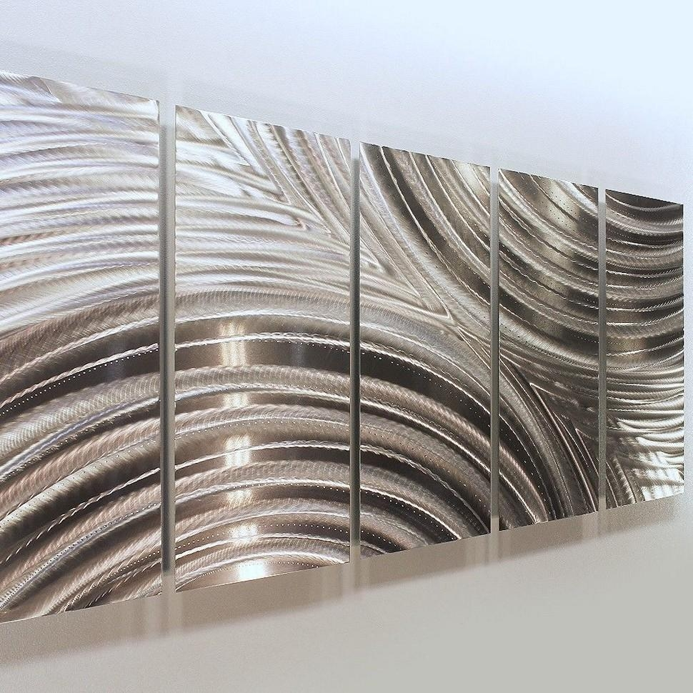 Metal Wall Art Panels For Interior Décor With Regard To Large Abstract Metal Wall Art (Image 15 of 20)