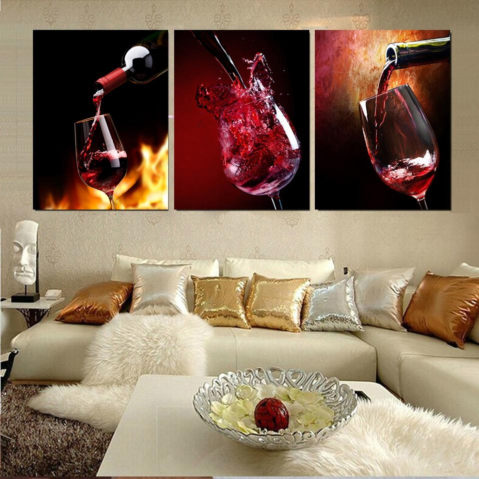 Metal Wine Glass Wall Art Promotion-Shop For Promotional Metal with regard to Wine Metal Wall Art