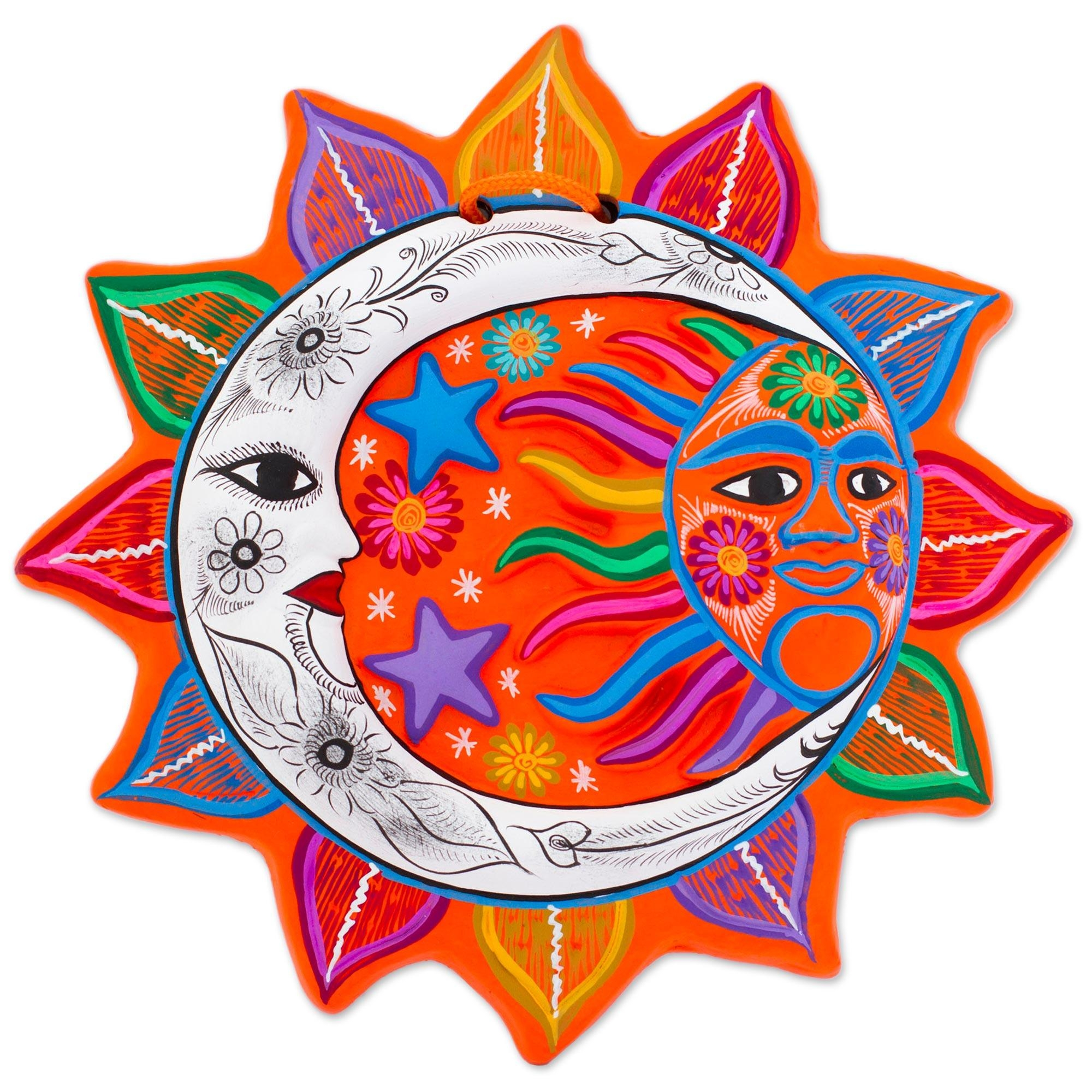 Mexican Sun And Moon Wall Art – Unique Mexican Sun And Moon Wall Inside Mexican Metal Wall Art (View 20 of 20)