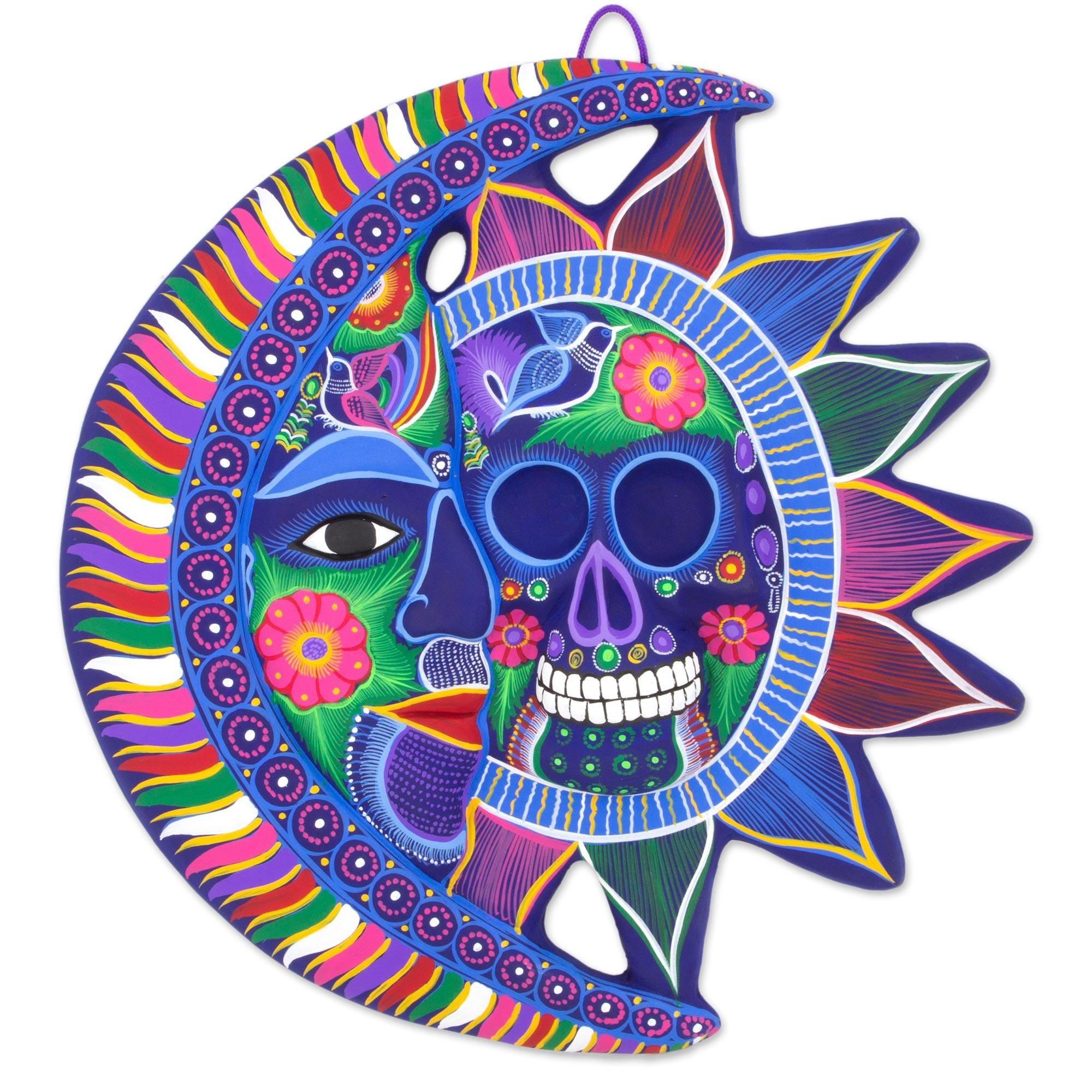 Mexican Sun And Moon Wall Art – Unique Mexican Sun And Moon Wall Intended For Mexican Metal Wall Art (Image 12 of 20)
