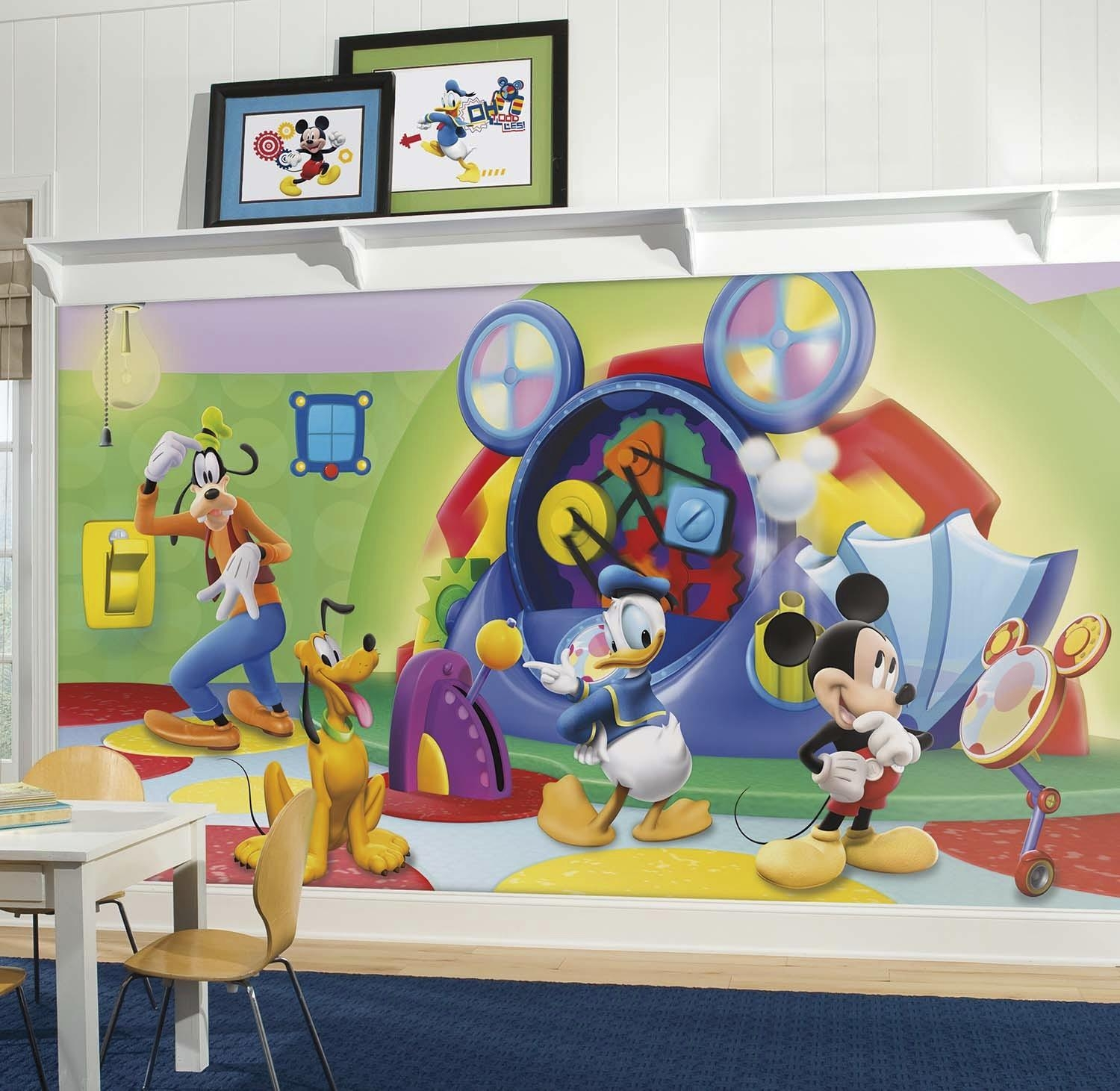 Mickey Mouse Clubhouse Capers Xl Mural (View 2 of 20)
