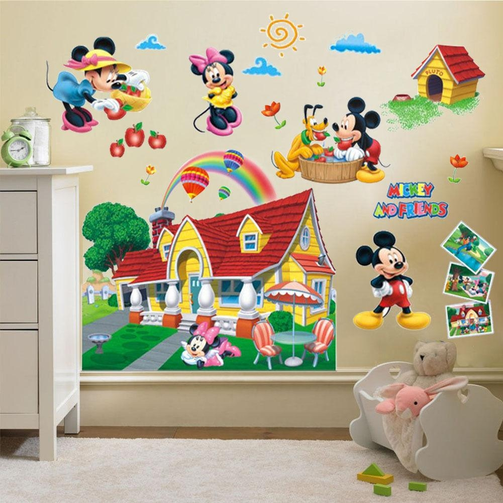 Mickey Mouse Clubhouse Wall Decals | Roselawnlutheran For Mickey Mouse Clubhouse Wall Art (Image 13 of 20)