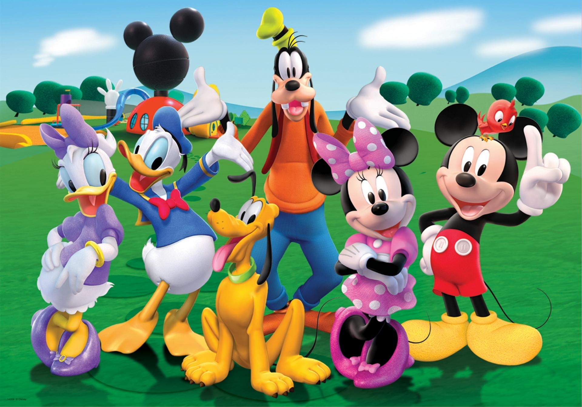 Mickey Mouse Clubhouse – Wallpaper (View 8 of 20)